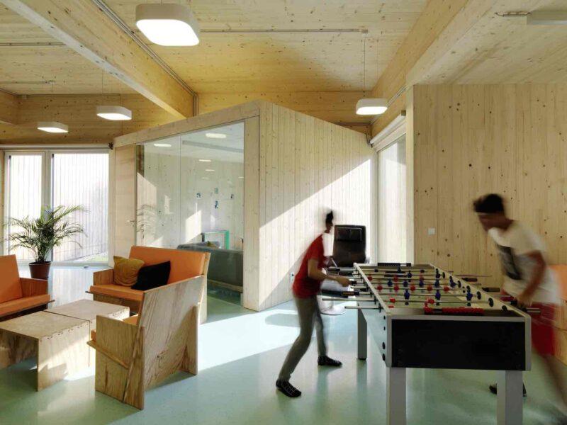 Jugendzentrum ECHO      Graz 09.2018                Bernd Pürstl Architekt