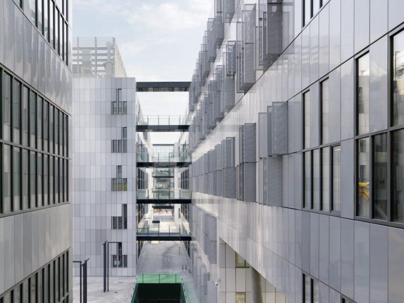 Med Campus Modul 1    Graz          riegler riewe architekten zt-ges.m.b.h.