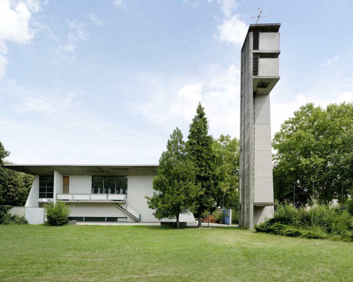 Pfarrkirche Wagna     07.2018         Architekt Friedrich Moser